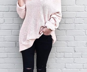 casual, fashion, and winter image