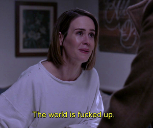 subtitles, ahs, and american horror story image