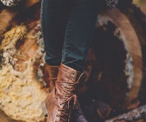brown, brown shoes, and autumn shoes image