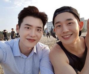 lee jong suk and kdrama image