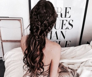 hair, theme, and hairstyles image