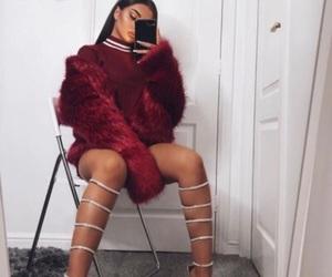 fashion, baddies, and heels image