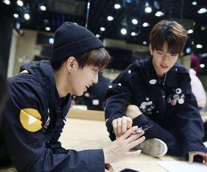 jisung, stray kids, and Chan image