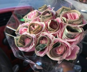rose and money image