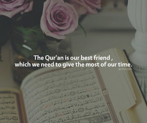 friend, islam, and quran image