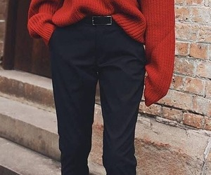 cold, sweater, and weather image