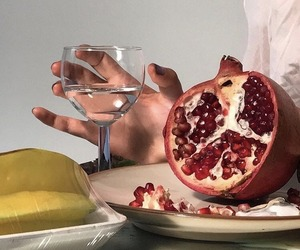 pomegranate and summer image
