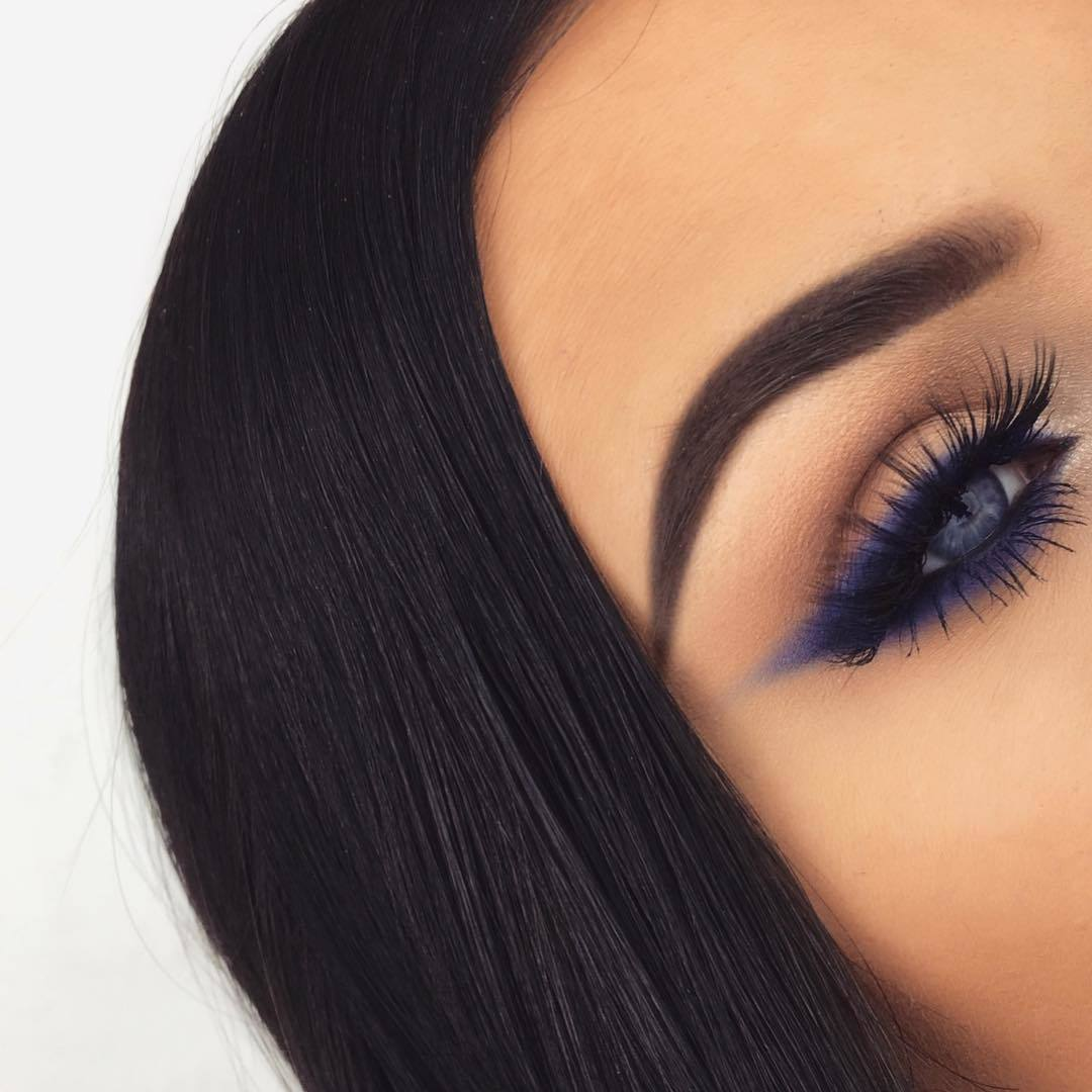 blue, eye, and eyebrows image