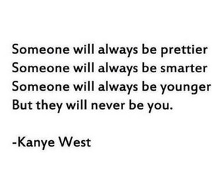 quotes, kanye west, and true image
