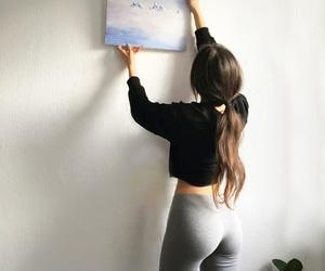 art, nike, and workout image