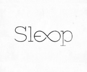 sleep, forever, and infinity image