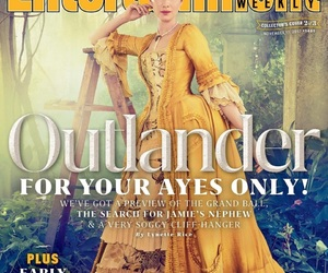 outlander, claire fraser, and caitriona belfe image