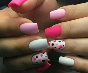 nail art and pink image