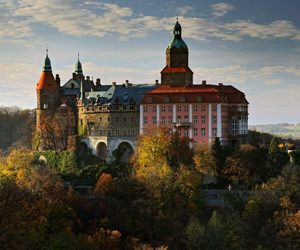 Poland and ksiaz castle image
