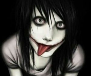 jeff the killer and creepypasta image