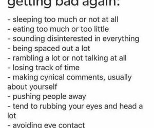 bad, depression, and important image
