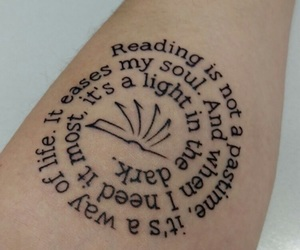 arm, girl, and quote image