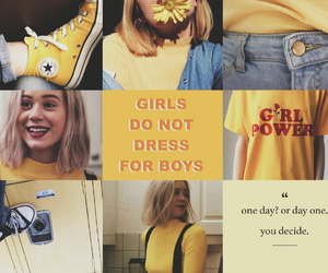skam, aesthetic, and yellow image
