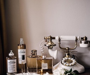 chanel, gold, and decor image