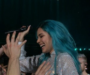 smile, halsey, and hfk image