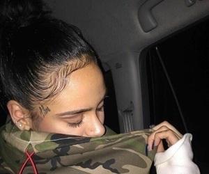 hair, tattoo, and kehlani image
