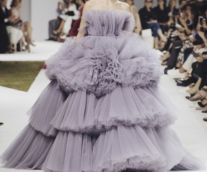 Couture, gown, and fashion image