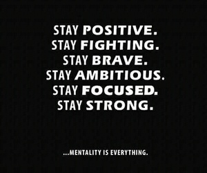 strong, positive, and quotes image