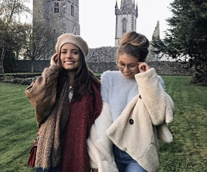 friends, girl, and ireland image