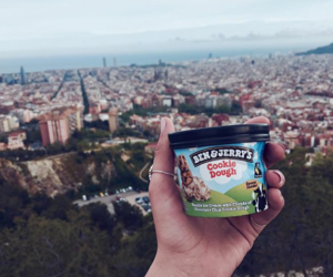 buildings, ice cream, and city image