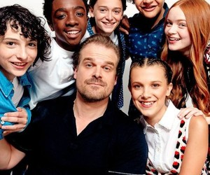 stranger things, cast, and sadie sink image
