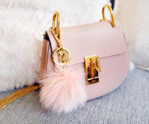 bag, pink, and luxury image