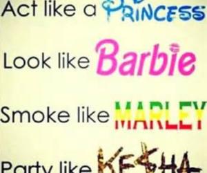 barbie, princess, and kesha image