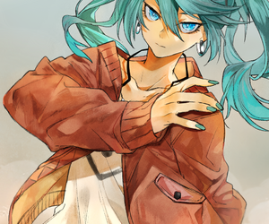 anime girl, vocaloid, and cool image