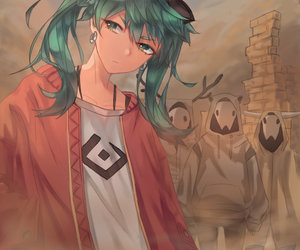 anime girl, cool, and handsome image