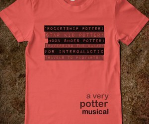 a very potter musical image