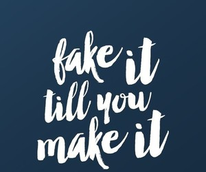 fake, life, and quotes image