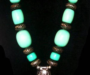 etsy, vintage jewelry, and turquoise necklace image