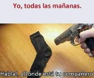 arma, compañero, and calcetìn image