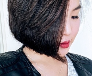 asian, hair, and asian girl image