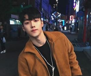 asian boy and korean boy image
