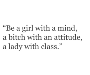 quotes, attitude, and girl image