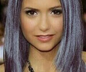 edit, grey hair, and Nina Dobrev image