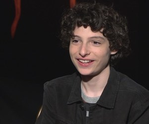smile and finn wolfhard image