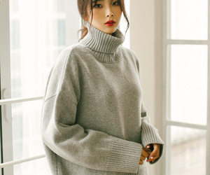 asian fashion, kfashion, and knit image