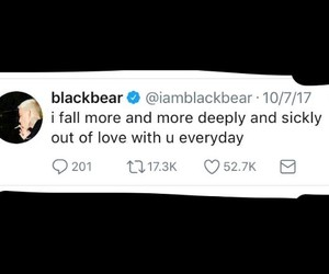 twitter and blackbear image
