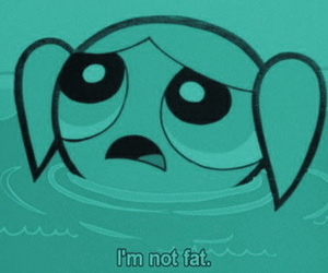 bubbles, fat, and power puff girls image