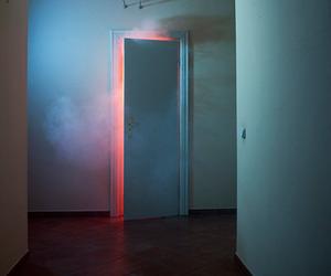 grunge, door, and aesthetic image