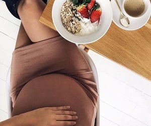 healthy and pregnant image