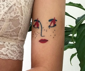 tattoo, art, and pretty image