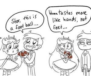 football, nachos, and marco and star image